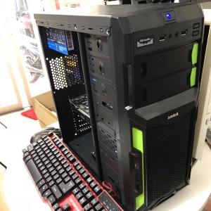 Thùng i3 9100F/Ram 8G/ SSD 128G new VGA 1060 2hand