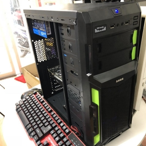Thùng I7 3770 /Ram 8G/ Card GTX1050Ti 4G /SSD 120G/Ổ cứng 500G