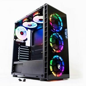 Thùng i3 9100F/Ram 8G/ SSD 128G new VGA RX560 4G 2hand