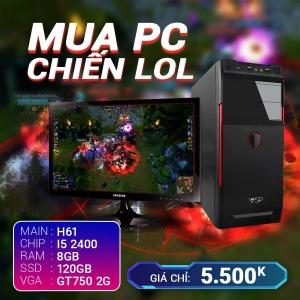 CH3 Core I5 2400 Ram 8G VGA GTX750 SSD 120G LCD 20