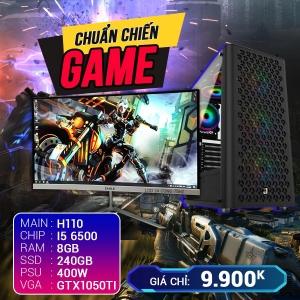 CH7 Core i5 Ram 8G VGA GTX1050Ti SSD 240G LCD 24 Cong 75Hz